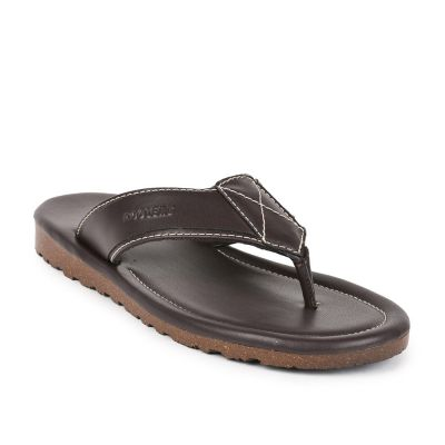Coolers Mens Brown Casual Thong Slippers (ALTROZ) Coolers
