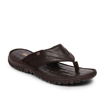 Coolers By Liberty Brown Flip Flop Slippers For Mens (AMOS-165) Coolers