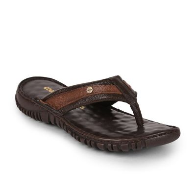 Coolers Mens Brown Casual Thong Slippers (AMOS-166 ) Coolers