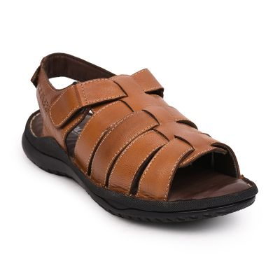 Coolers By Liberty Tan Casual Sandals For Mens (ARV-1 ) Coolers