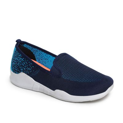 Force 10 Women's Blue Sporty Casual Non Lacing (AVILA-06) Force 10
