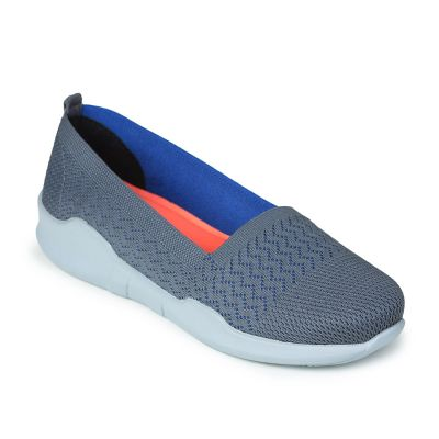 Force 10 By Liberty Womens Casual Slip On Loafer - Grey (AVILA-14) Force 10