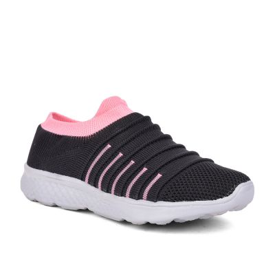 Force 10 By Liberty Womens Sports Grey Non Lacing Walking Shoes Force 10