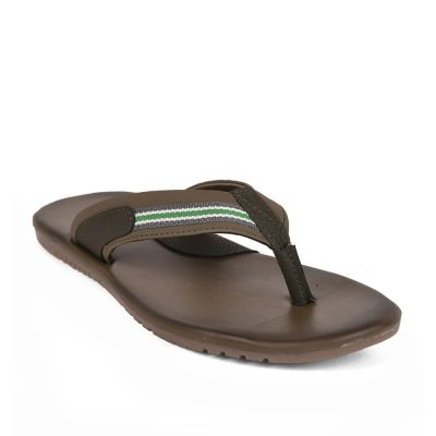 Coolers Mens Olgreen Casual Thong Slippers (BRYSON) Coolers