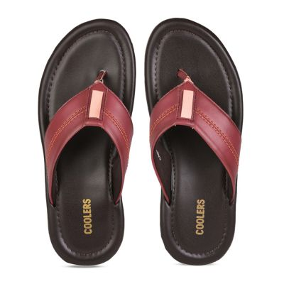 Coolers Mens Casual Cherry Thong Slippers (CAROL) Coolers