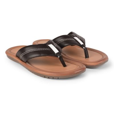 Coolers Brown Casual Flip Flop Slippers For Mens (CAROL ) Coolers