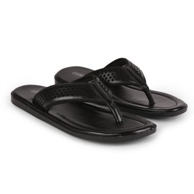Coolers Black Casual Flip Flop Slippers For Mens (COLE ) Coolers