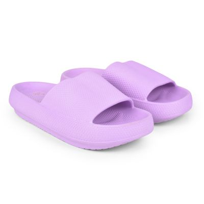 AHA Purple Sliders Slippers For Womens (COMFYWALK1) A-HA