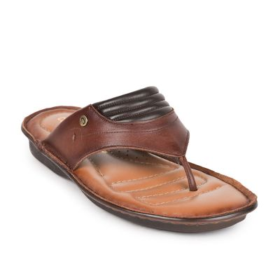 Coolers Mens Brown Formal Thong Slippers (E278-95) Coolers