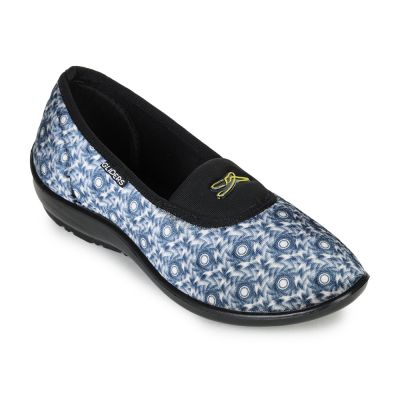 Gliders Women's S.Blue Ballerina (Elena-113) Gliders