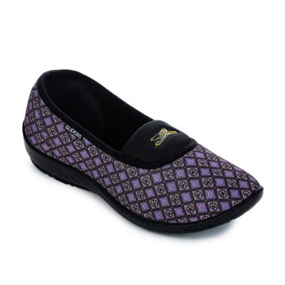 Gliders Women's Purple Casual Ballerina Gliders