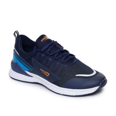 Force 10 By Liberty Mens Sports Navy Blue Running Shoes Force 10