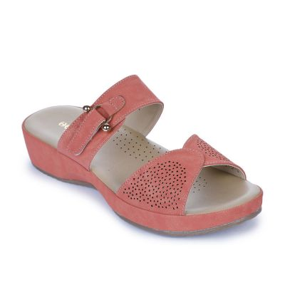 Healers Women's Pink Fashion Slippers Healers