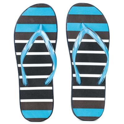 AHA By Liberty Womens Bin Flip Flop - Sea Blue (HIMANI-3) A-HA