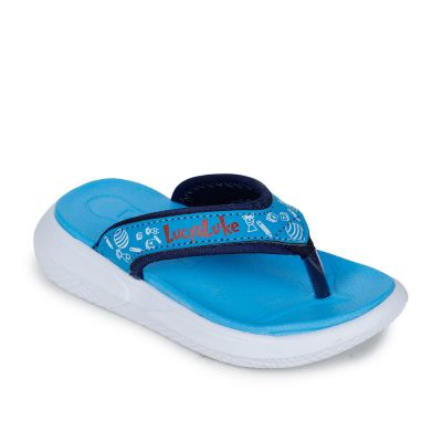 Lucy & Luke Kids S.Blue Casual Thong Lucy & Luke