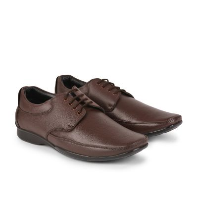 Fortune By Liberty Mens Formal Brown Lacing Shoes Fortune