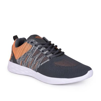Force 10 By Liberty Mens Sports Grey Running Shoes Force 10