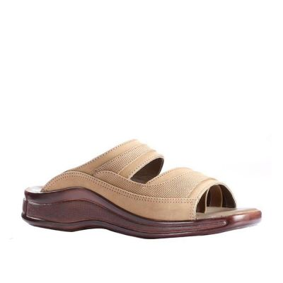 Coolers Men's Brown Formal Slippers (2050-01) No