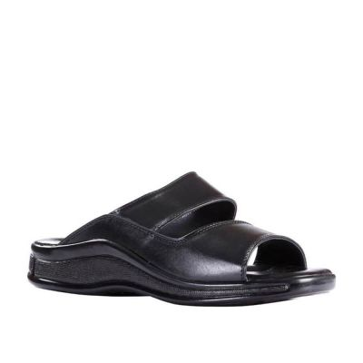 Coolers Men's Black Formal Slippers (2050-02) No