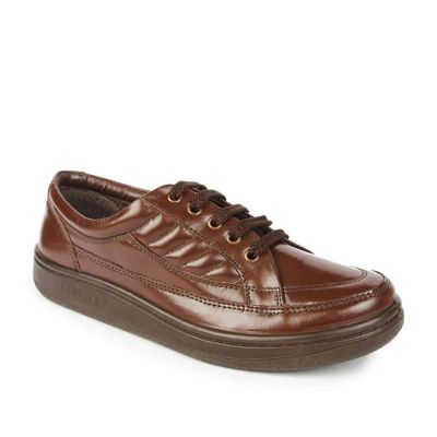 Warrior Men's Brown Formal Lacing (2078-01) No