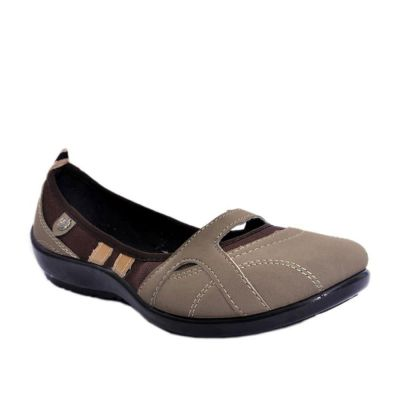 Gliders Women's Brown Casual Ballerina (2151-235) No