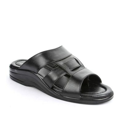 Coolers Men's Black Formal Slippers (7123-120) No