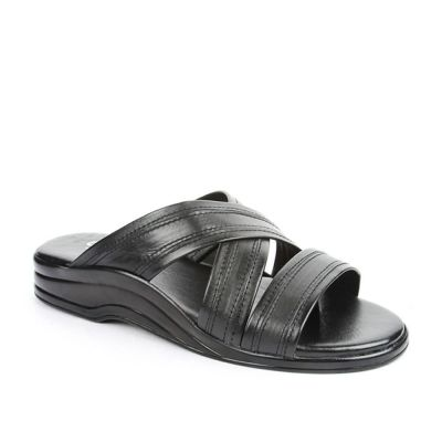 Coolers Men's Black Formal Slippers (7123-61) No