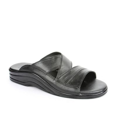 Coolers Men's Black Formal Slippers (7123-79) Coolers