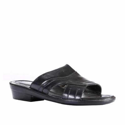 Coolers Men's Black Formal Slippers (7153-40) No