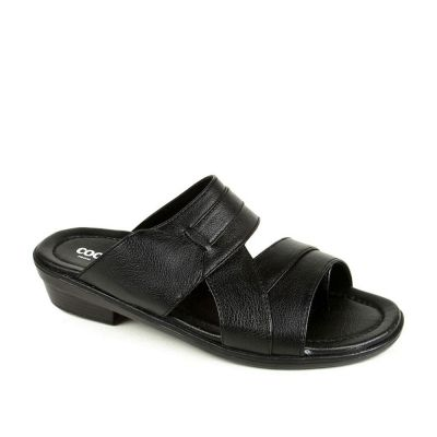Coolers Men's Black Formal Slippers (7153-601) No