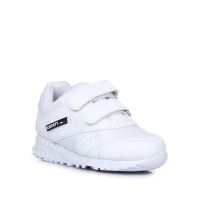 Force 10 Kids White School Non Lacing (9906-90VGN) No