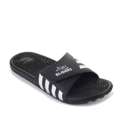 A-Ha Men's Black Bin Slippers (ADAM) No