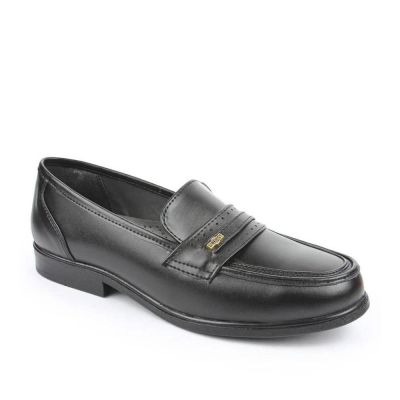 Fortune Men's Black Formal Non Lacing (ARMANI) Fortune