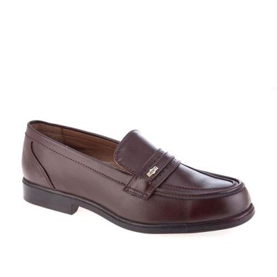 Fortune Men's Brown Formal Non Lacing (ARMANI) Fortune