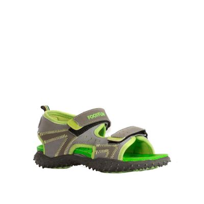 Lucy & Luke Kids Green Casual Sandal (BEN-10) No