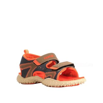 Lucy & Luke Kids Orange Casual Sandal (BEN-10) No