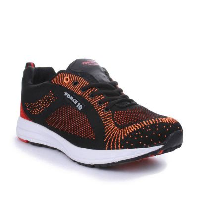 Force 10 Men's Orange Sports Lacing (BOOSTER-5) No