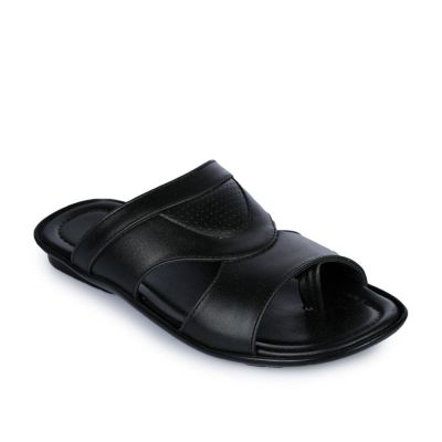 Coolers Men's Black Formal Slippers (COOL99-105) No