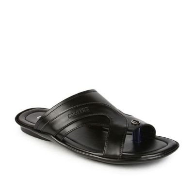 Coolers Men's Black Formal Slippers (COOL99-12) No