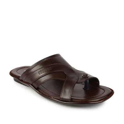Coolers Men's Brown Formal Slippers (COOL99-12) No