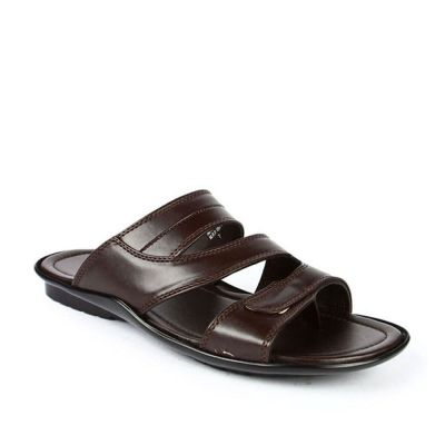Coolers Men's Brown Formal Slippers (COOL99-13) No
