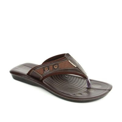 A-Ha Men's Brown Casual Thong (CT-001) No