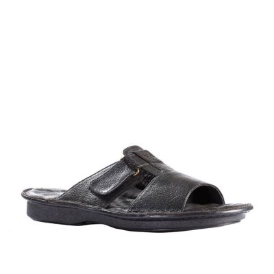 Coolers Men's Black Formal Slippers (E278-01) No