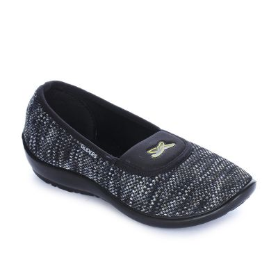 Gliders Women's Black Casual Ballerina (ELENA-30) Gliders