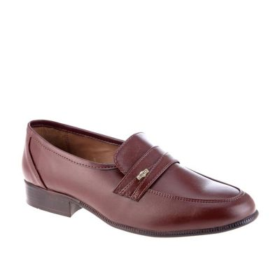 Fortune Men's Brown Formal Non Lacing (ENCON) Fortune