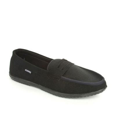 Gliders Men's Black Casual Non Lacing (EXCITOR) No