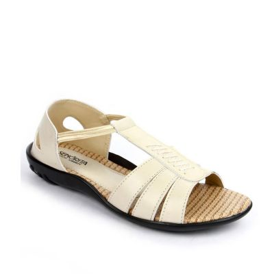 Senorita Women's Beige Fashion Sandal (FT-713) No
