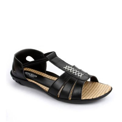 Senorita Women's Black Fashion Sandal (FT-713) No