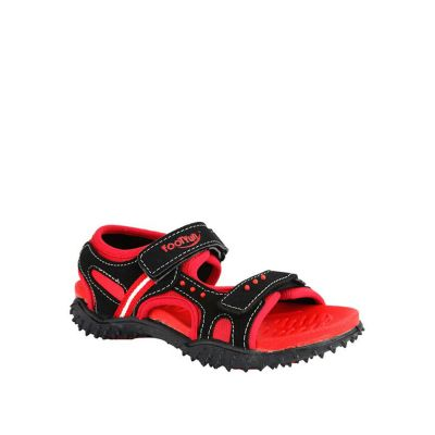 Lucy & Luke Kids Red Casual Sandal (HABANA) No