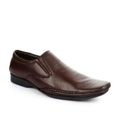Fortune Men's Brown Formal Non Lacing (JP-9432) Fortune